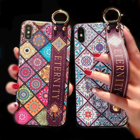 Eternity Vintage iPhone Mosaic Pattern Phone Case