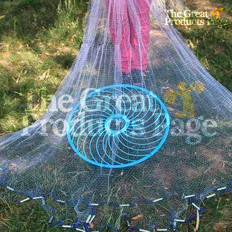 Perfect Circle Casting Fishing Net