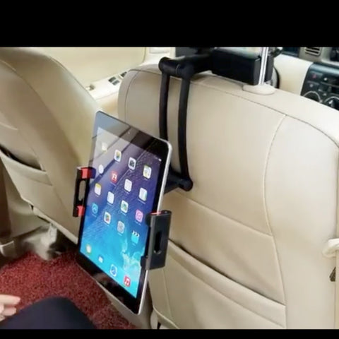tablet car mount for headrest