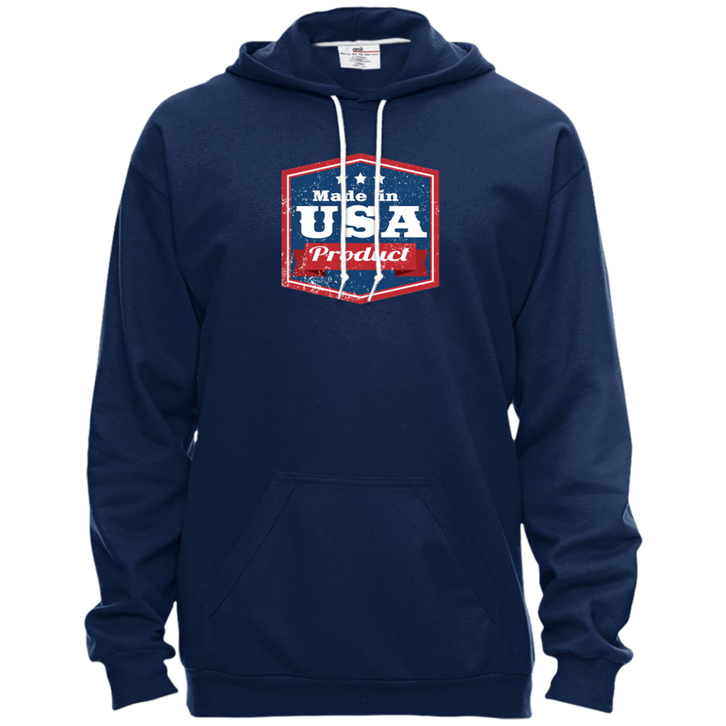 Apparel Made In USA Pullover Hooded Fleece / Navy / X-Small MADE IN USA  Premium Hoodie or Triblend Tshirt