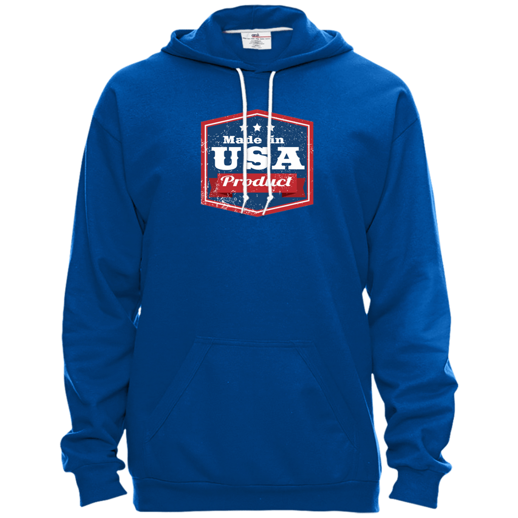 Apparel Made In USA Pullover Hooded Fleece / Royal Blue / X-Small MADE IN USA  Premium Hoodie or Triblend Tshirt