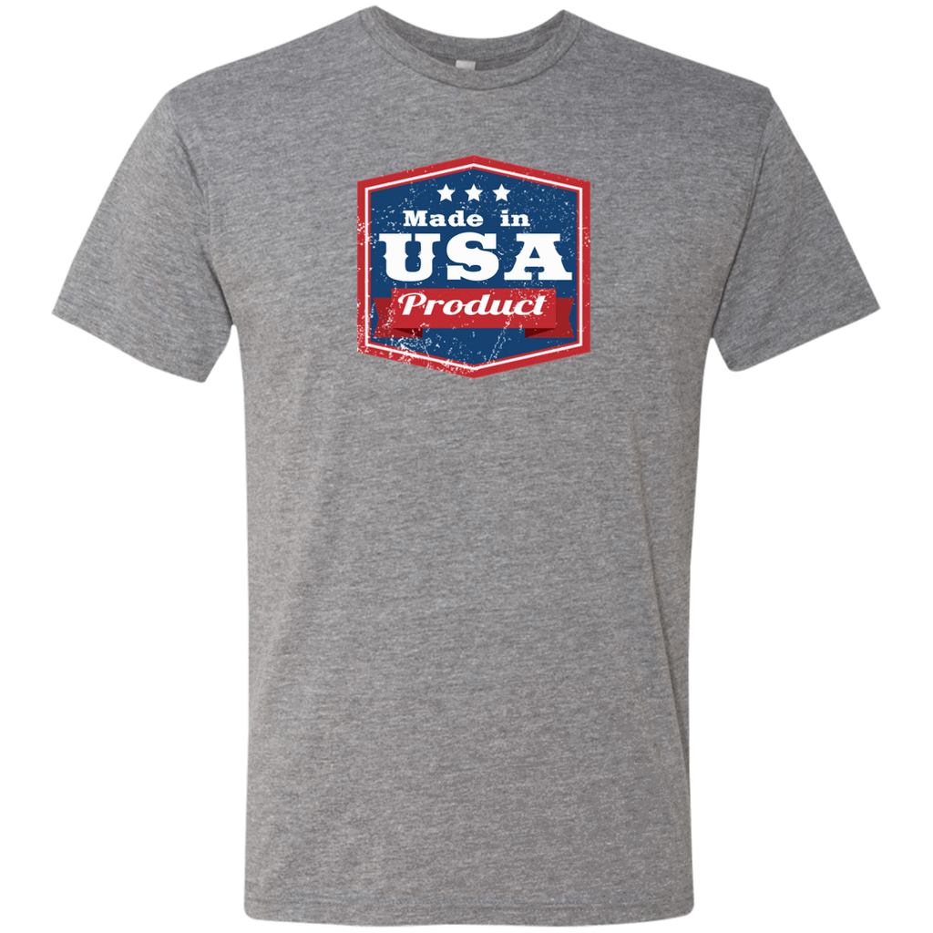 Apparel Made In USA  Triblend T-Shirt / Premium Heather / S MADE IN USA  Premium Hoodie or Triblend Tshirt