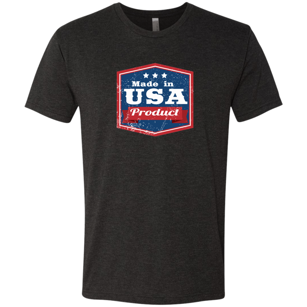 Apparel Made In USA  Triblend T-Shirt / Vintage Black / S MADE IN USA  Premium Hoodie or Triblend Tshirt