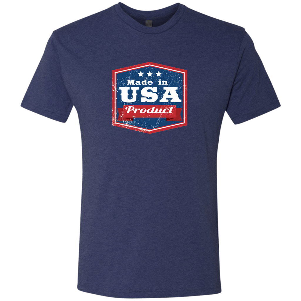 Apparel Made In USA  Triblend T-Shirt / Vintage Navy / S MADE IN USA  Premium Hoodie or Triblend Tshirt