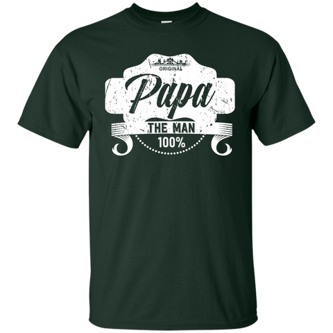 T-Shirts Forest / S Papa The Man T-shirt