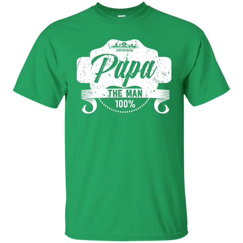 Image of T-Shirts Irish Green / S Papa The Man T-shirt