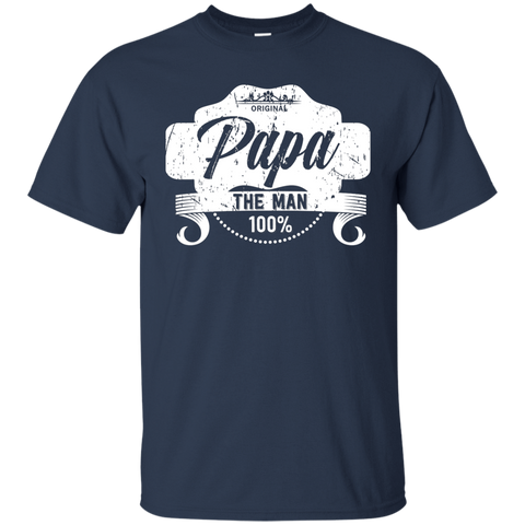 T-Shirts Navy / S Papa The Man T-shirt