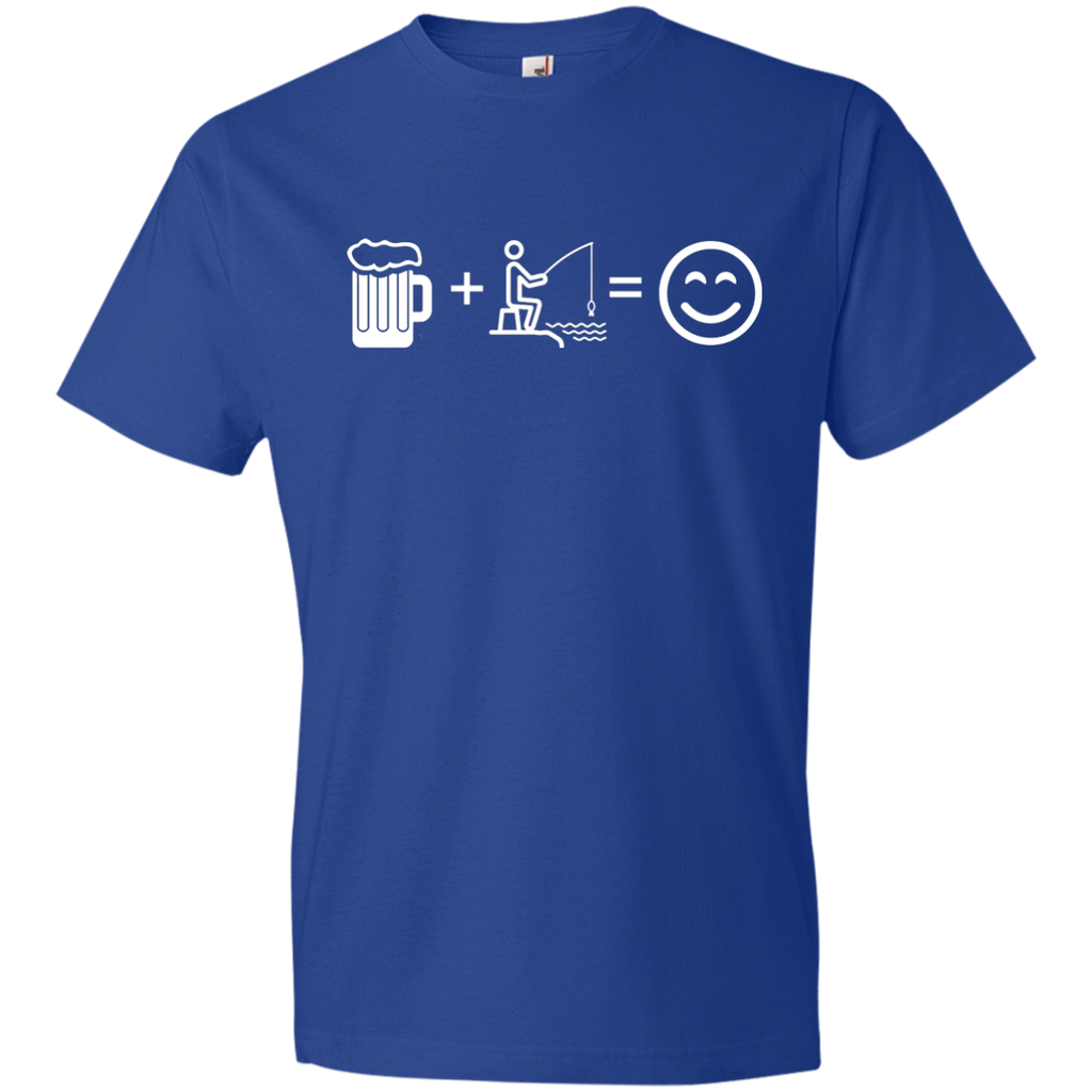 T-Shirts Royal / S Fishing Beer Love T-Shirt