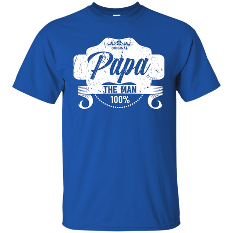 T-Shirts Royal / S Papa The Man T-shirt