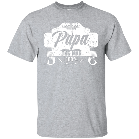T-Shirts Sport Grey / S Papa The Man T-shirt