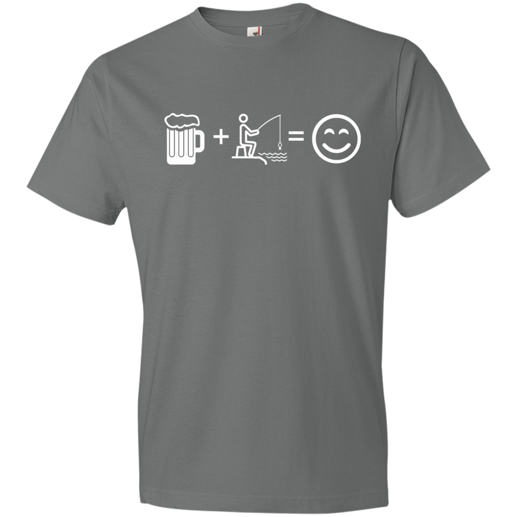 T-Shirts Storm Grey / S Fishing Beer Love T-Shirt