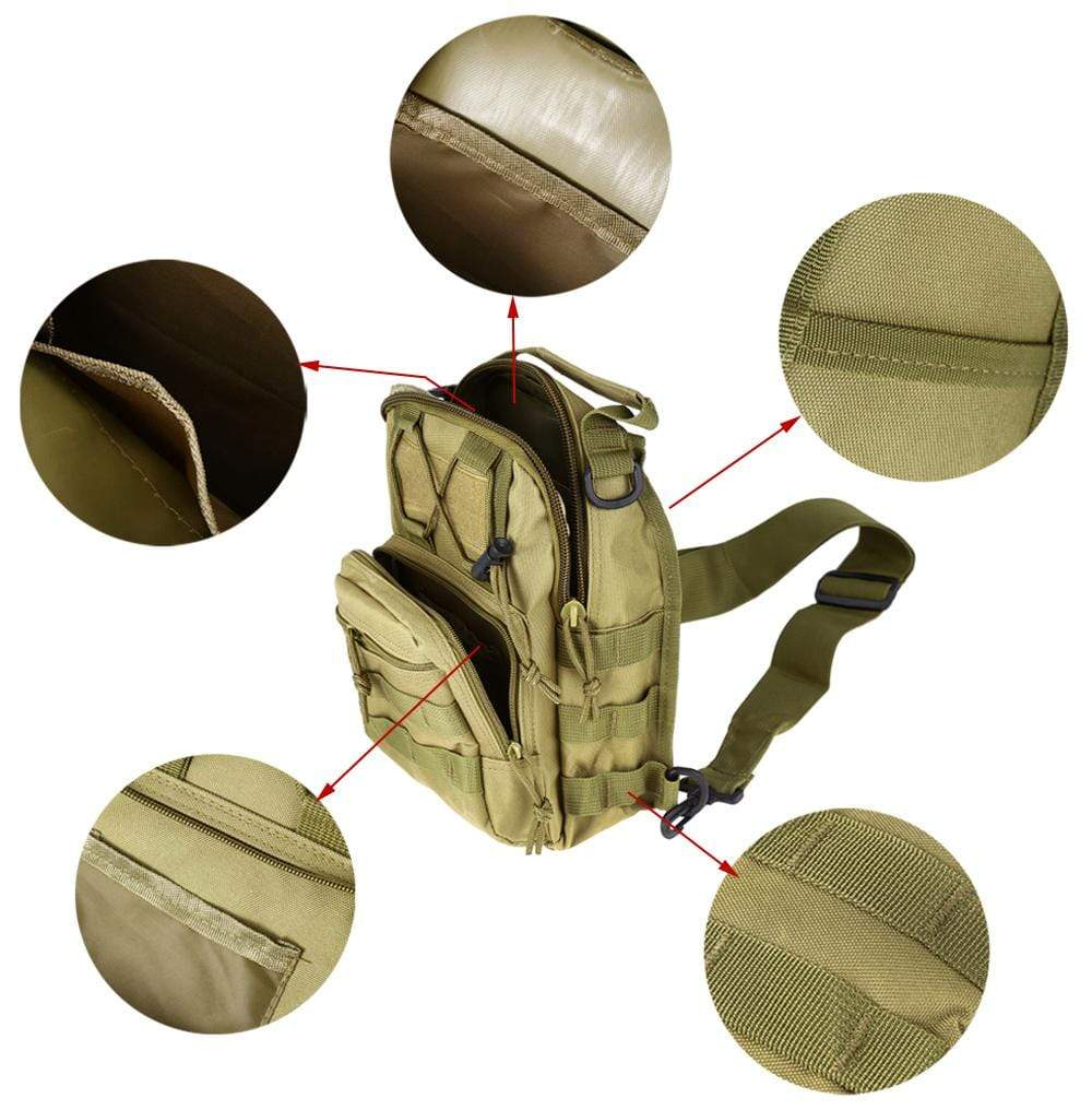 01 Sling Shoulder Backpack