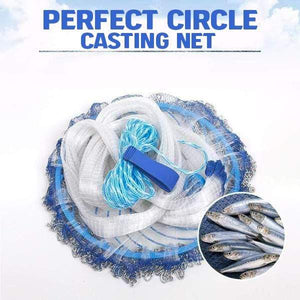 Perfect Circle Fishing Casting Net