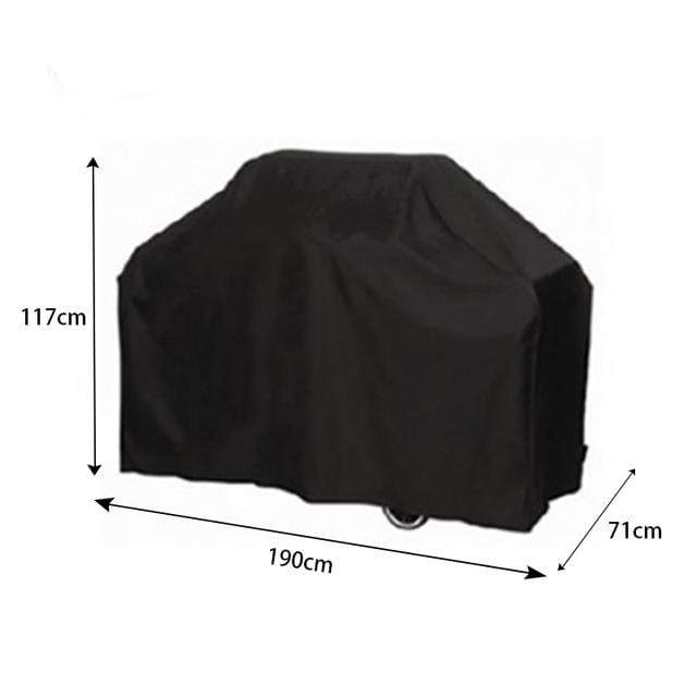 190x71x117cm Barbecue Grill Waterproof Cover