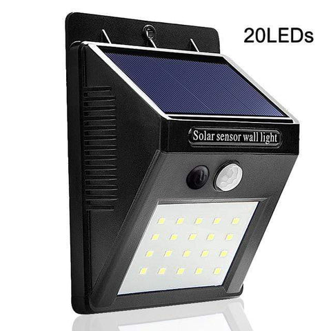 20 LEDs / 1 Piece Solar Motion Sensor Wall Light