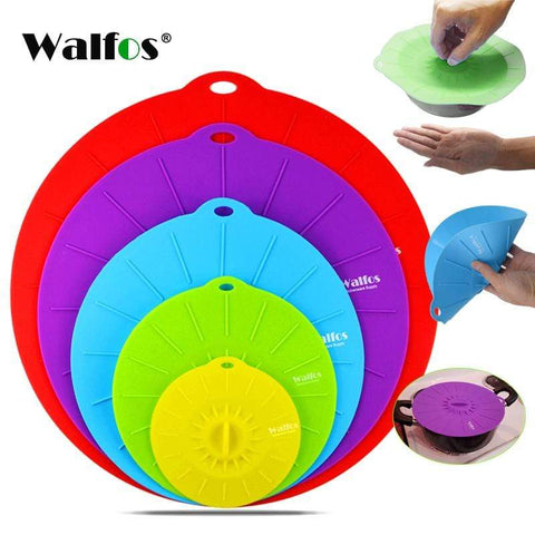 3 pieces lid Silicone bowl cover