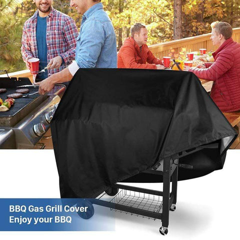 Image of 58x diameter 77cm Barbecue Grill Waterproof Cover