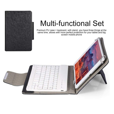 7 8 inch black Ipad Bluetooth Keyboard