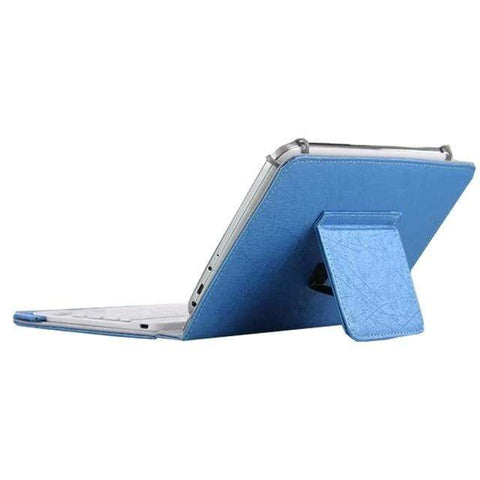 Image of 7 8 inch blue Ipad Bluetooth Keyboard
