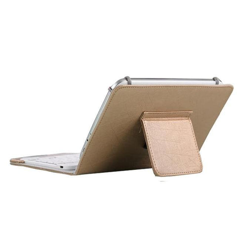 Image of 7 8 inch gold Ipad Bluetooth Keyboard