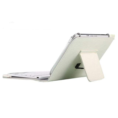 Image of 7 8 inch white Ipad Bluetooth Keyboard
