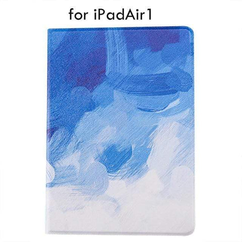 Image of A-1 Water Color ipad Case For iPad 9.7 Air 1 And 2