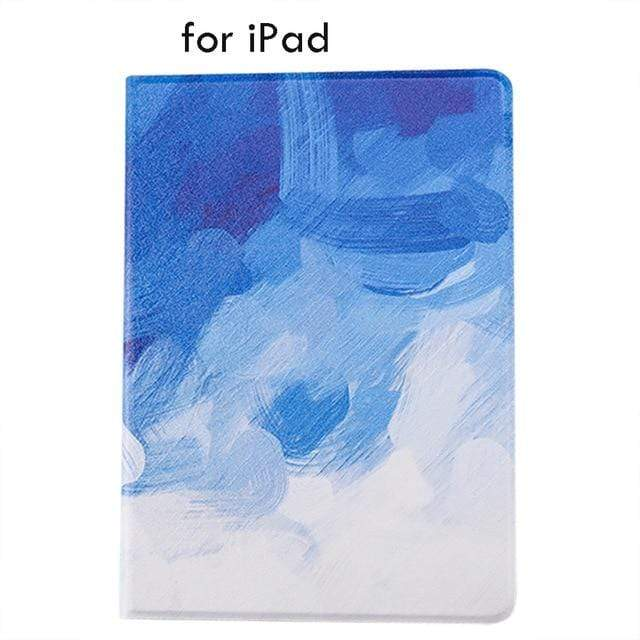 A Water Color ipad Case For iPad 9.7 Air 1 And 2