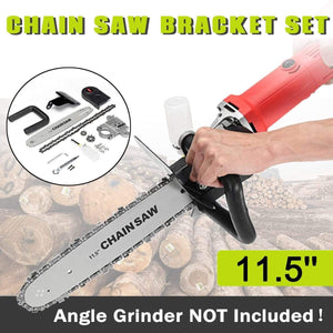 Super Saw Pro - Chainsaw Angle Grinder Attachment