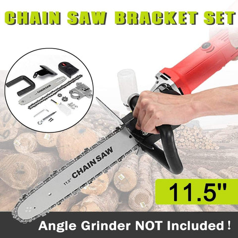 Image of Angle Grinder Chainsaw Attachment Super Saw Pro - Chainsaw Angle Grinder Attachment