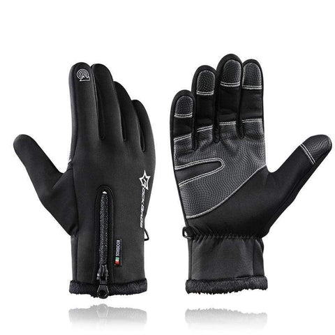 ANTI-SLIP WINTER GLOVES - THERMAL & WINDPROOF B black / S Men's Winter Driving Gloves