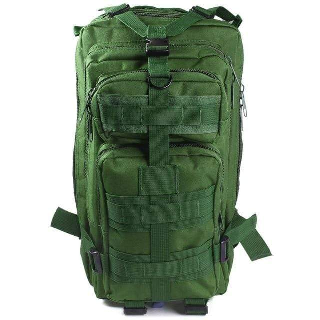 ARMY GREEN / 30 - 40L Military Rucksack