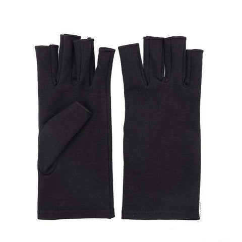 Image of Arthritis Gloves Black / L Arthritis Compression Gloves