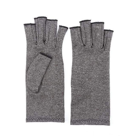 Image of Arthritis Gloves Gray / L Arthritis Compression Gloves