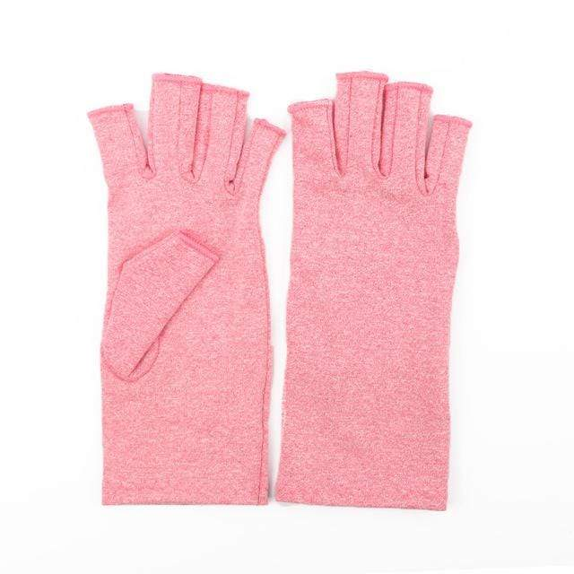 Arthritis Gloves Pink / L Arthritis Compression Gloves