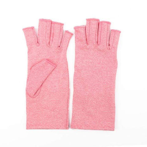 Image of Arthritis Gloves Pink / L Arthritis Compression Gloves