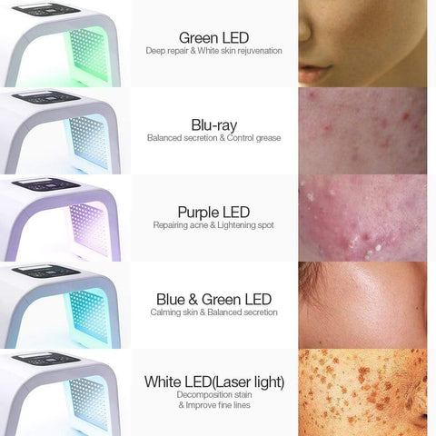 Image of AU Plug Led Light Therapy LED Mask