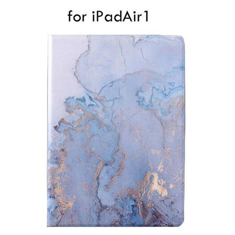 Image of B-1 Water Color ipad Case For iPad 9.7 Air 1 And 2