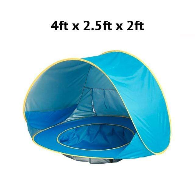 online retailer c9e04 07ed5 Baby Beach Tent With Built In Pool