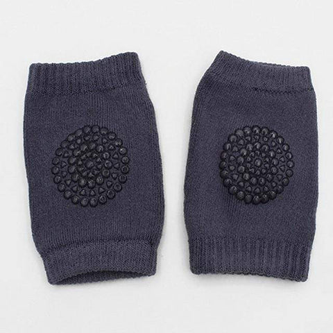 Image of baby knee pads Dark Grey Baby Safety Knee Pads