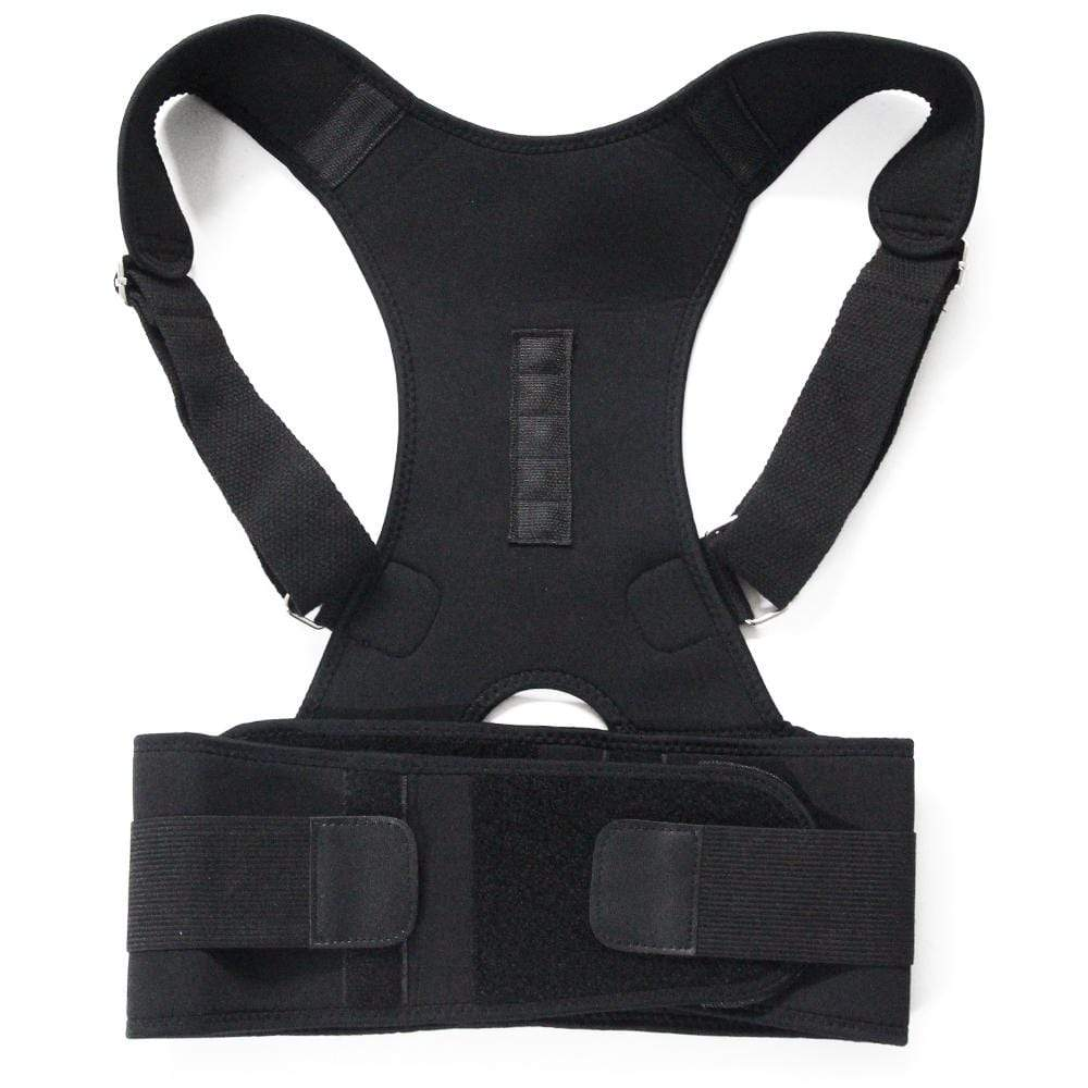 Back Support Posture Brace Black / M Posture Support Back Brace