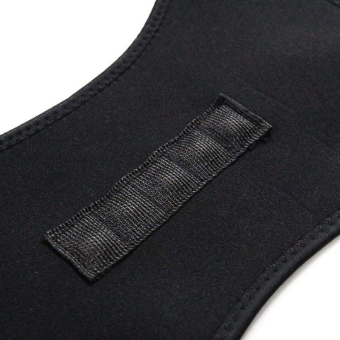 Image of Back Support Posture Brace Black / S Posture Support Back Brace