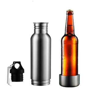 Black Beer Cooler Bottle