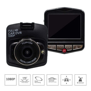 1080p HD DVR Dash Camera With Night Vision