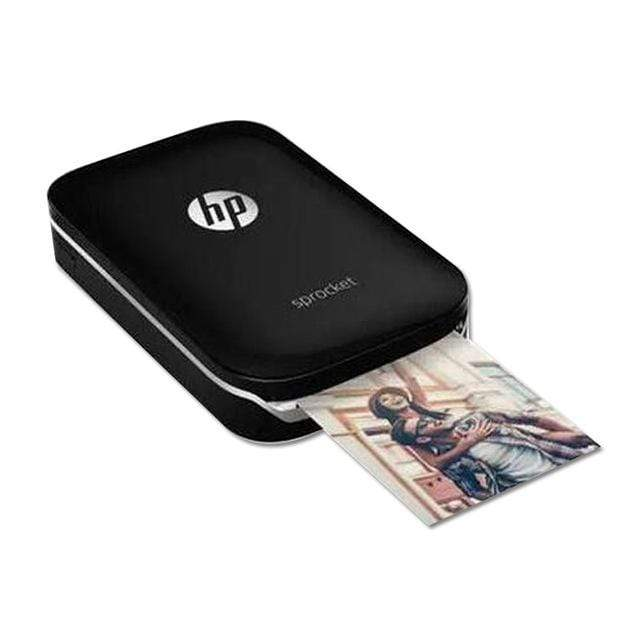 black Pocket Photo Printer