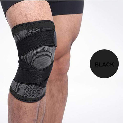 Image of Black / S Pressurized Knee Support Brace 3D - All Sizes