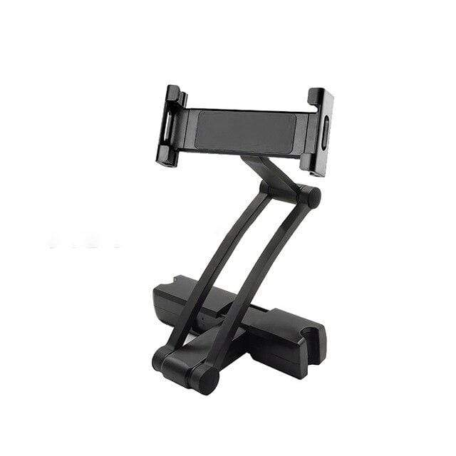 Black Tablet Holder Car Headrest Mount