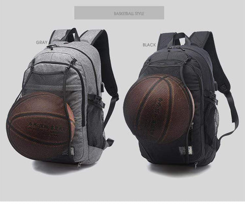 Black / United States Basketball Backpack Bookbag