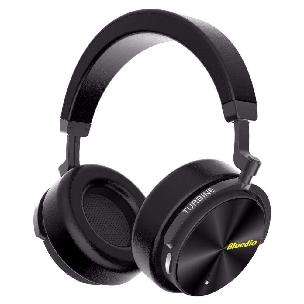 Black / United States Bluetooth Wireless Noise Cancelling Headphones with microphone