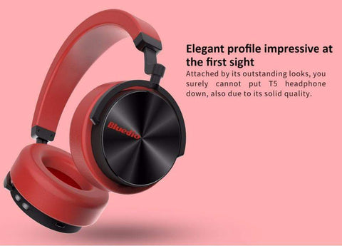 Image of Black / United States Bluetooth Wireless Noise Cancelling Headphones with microphone