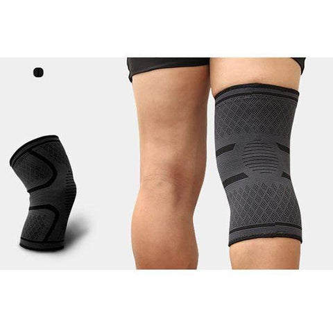Image of Black / XL Compression Knee Support Sleeve Brace